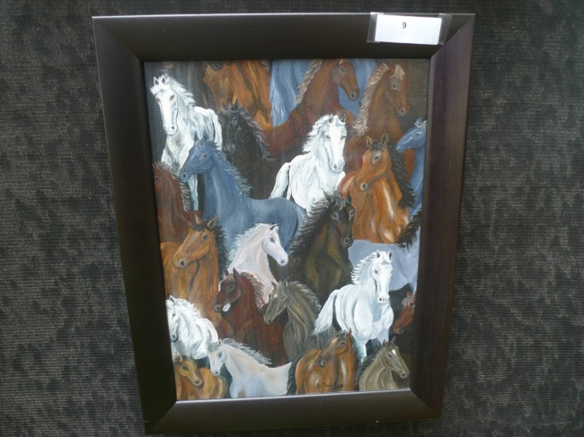 Super wild horses