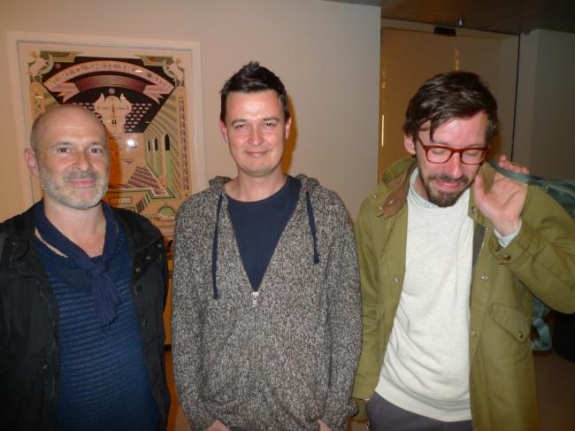 Damiano Bertoli, Tom 'Bedroom Eyes' Nicholson and Ziga Testen