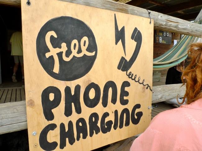 Free phone charging