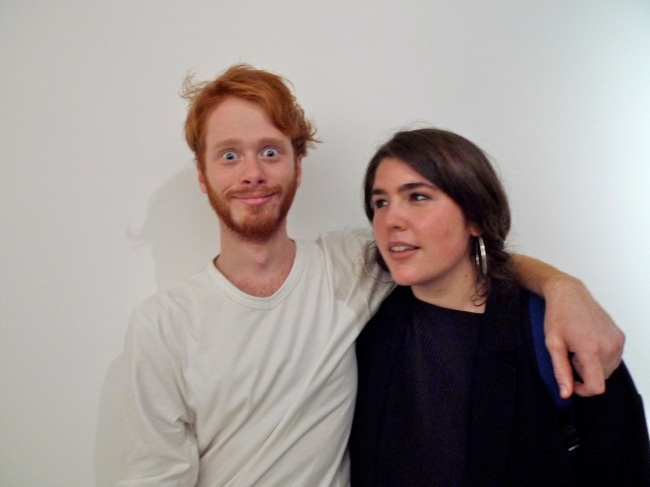 Jimmy Nuttall and Georgia Robenstone (aka Robyn Rhinestone)