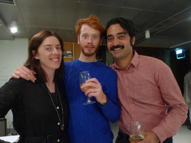 Rosemary Forde, Jimmy Nuttal and Leuli Eshraghi