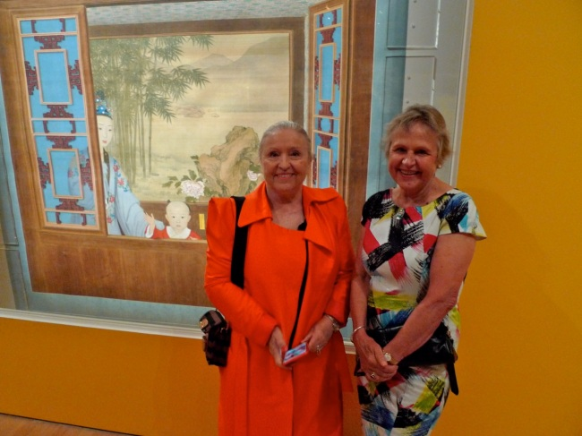 Tania Nesbit and Vita Luft