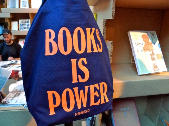 Books is Power and Non Stop Poetry