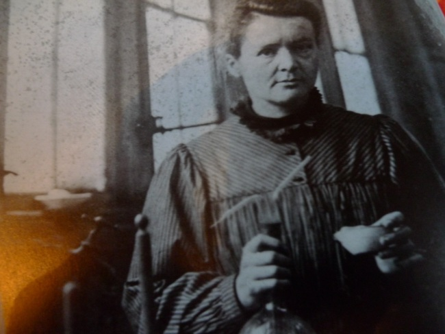 Marie Curie discovered X-Rays and bagged herself a couple of Nobel Prizes