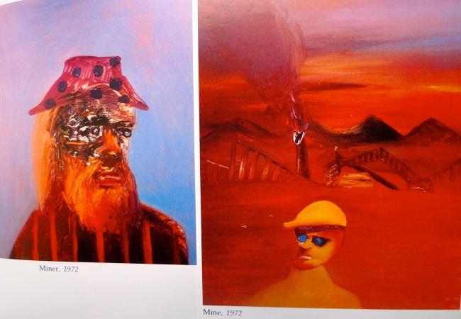 Mine and Miner, Sidney Nolan 1972