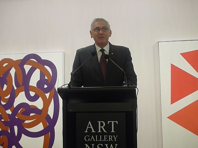NSW Minister for the Arts, George Souris