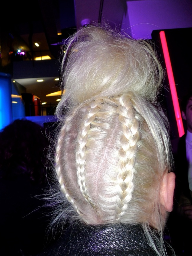 Best Hairstyle of the evening