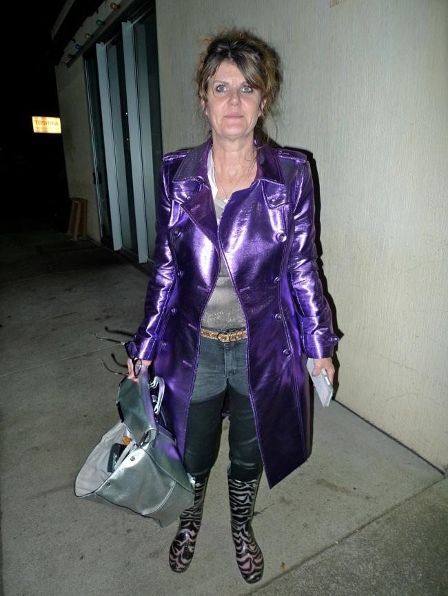 Doreen Munn in Burberry