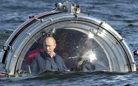 Putin explores the Russian sea