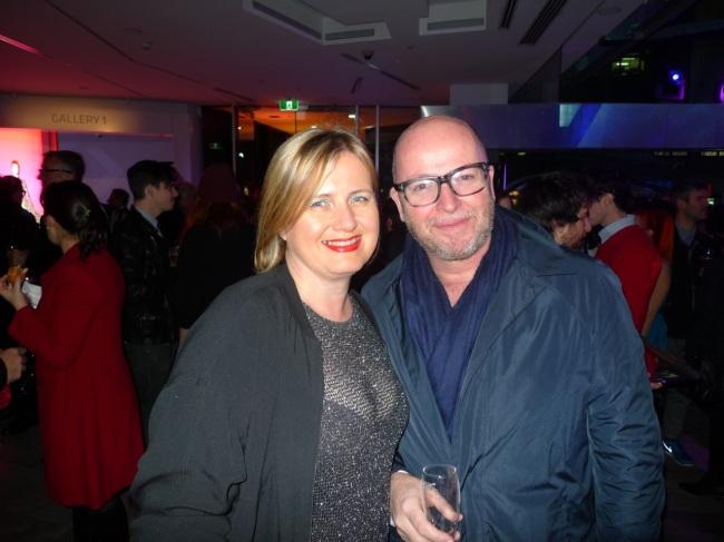 Julie Lomax and Shane Carroll