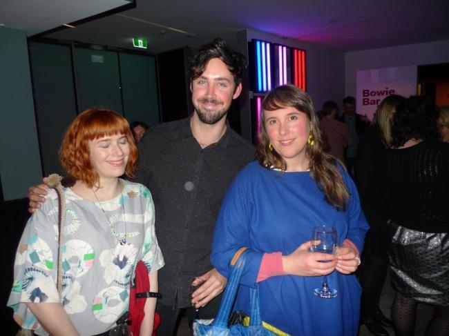 Kate Matthews, Sam Mapplebeck and Isobel Knowles