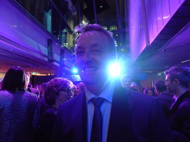 Martin Foley in bright light