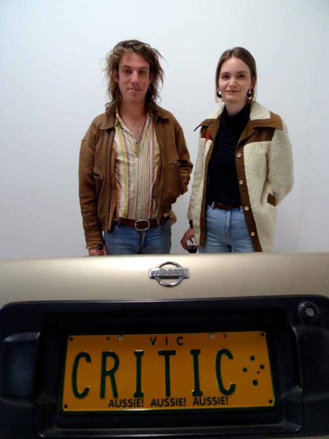 Reuben Gillman and Bridie Schafer