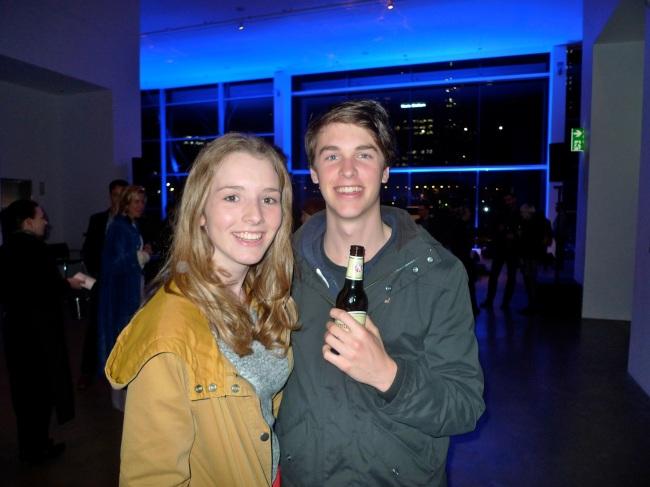 Young love, Greta Martin and Angus McCowage