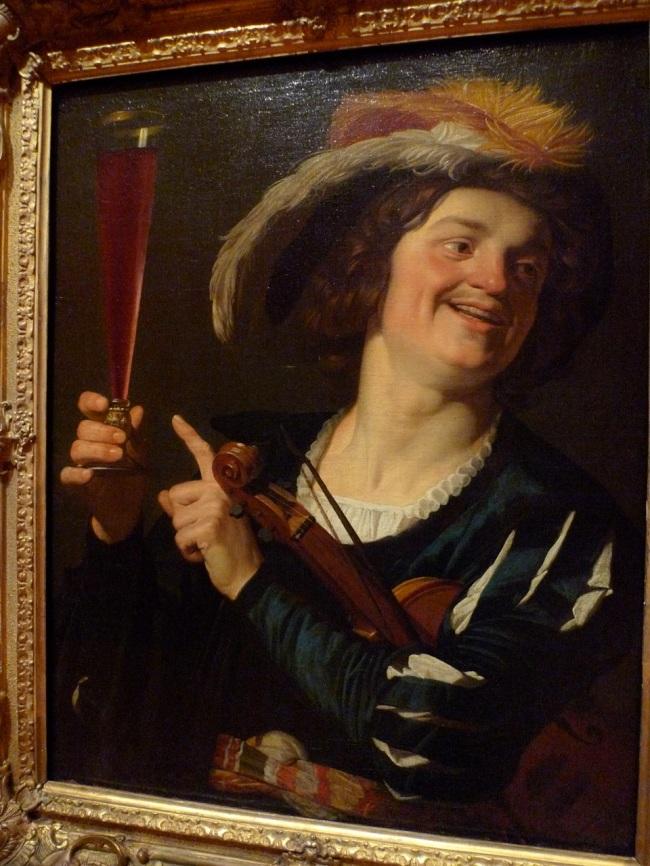 A Convivial fellow by Gerrit van Honthorst, 1624
