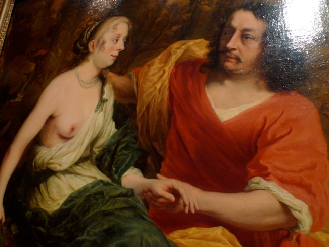 Allegorical family portrait (Bacchus & Ariadne) by Ferdinand Bol, 1664