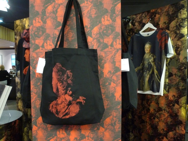 Catherine the Great, t-shirts and tote bags