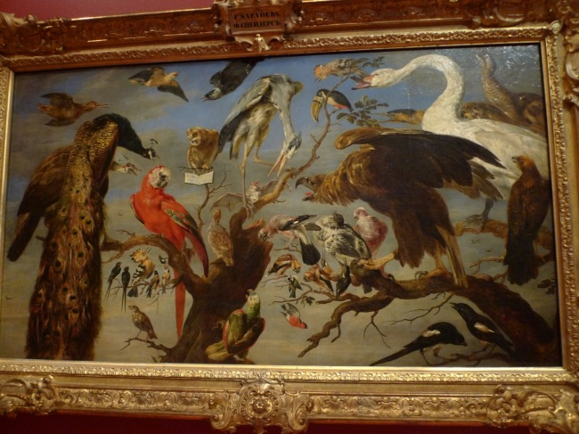 Concert of Birds by Frans Synders, 1630-40