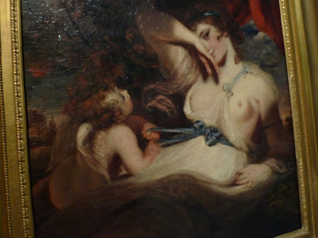 Cupid untying the zone of Venus by Joshua Reynolds, 1788