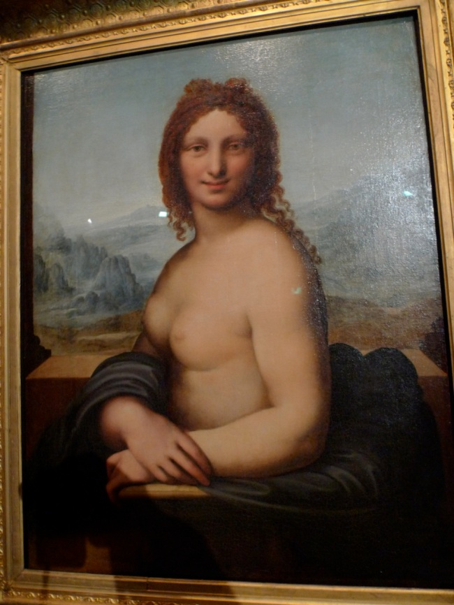 Leonardo DA VINCI (School of), Female nude