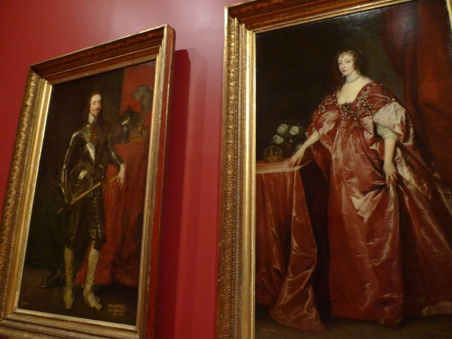 Portrait of King Charles I & Queen Henrietta Maria by Anthony van Dyck, 1638