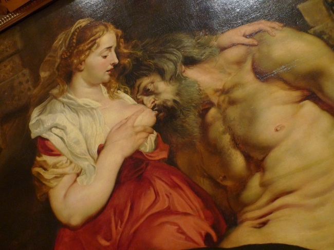 Roman Charity (Cimon & Pero) by Peter Paul Rubens, c
