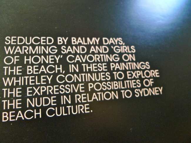 Warming sands and 'girls of honey'