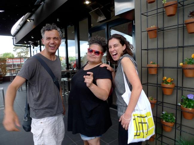 Brendan, Salote and Consuelo