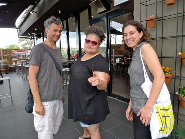 Brendan Van Hek, Salote and Consuelo Cavaniglia