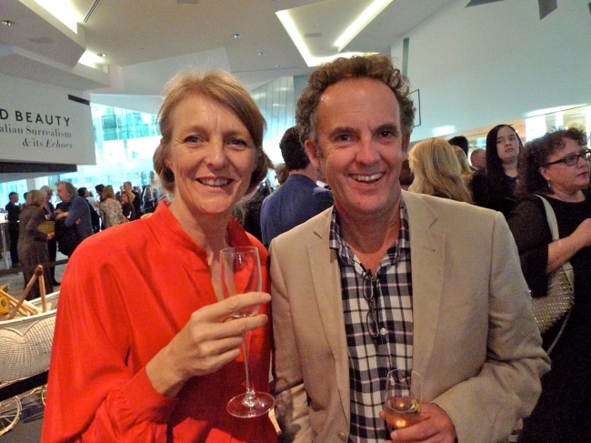 Claire Lambe and Dr Andrew