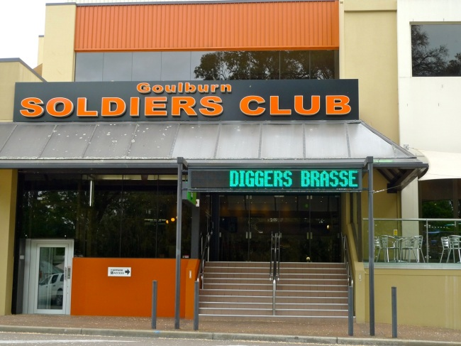 Diggers Brasserie at the Soliders Club