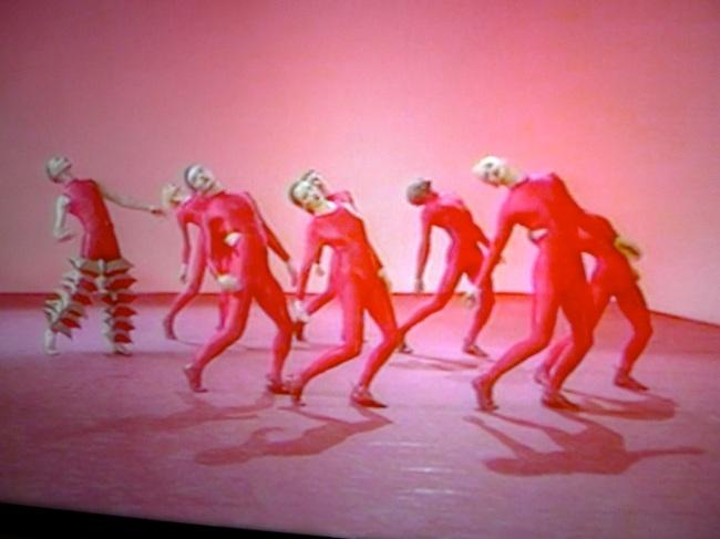 Michael Clark dancers