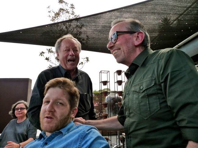 Noreen, Bill, Heath and George Adams