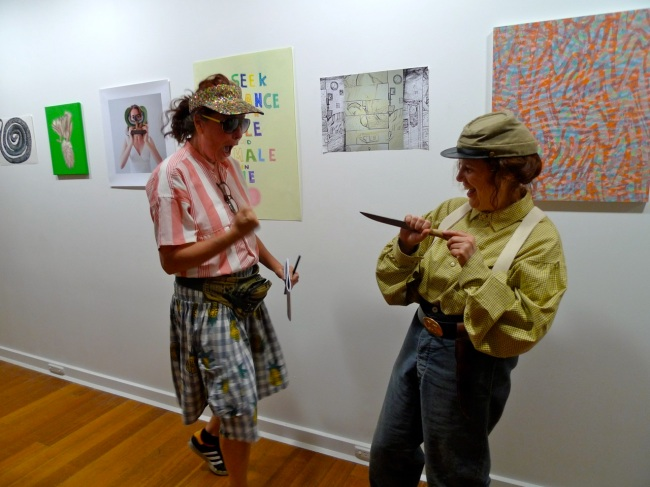 The Tourist vs the Confederate Sergeant of Contemporary Art