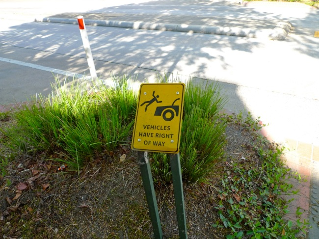 Vehicles in Goulburn have right of way