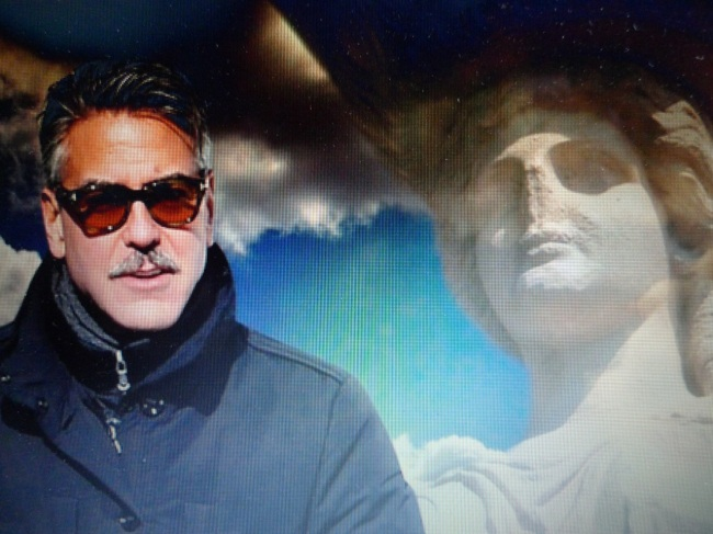George Clooney supports Greece in its battle to get back the Parthenon Marbles from the British Museum