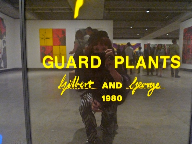 Guard palnts with woman, addition, 1980