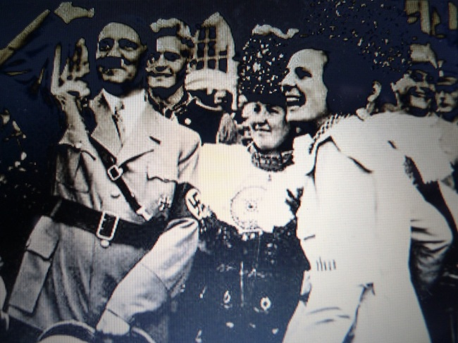 Hitler and his favourite film maker Leni Riefenstahl