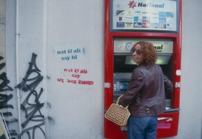 nat&ali graffiti campaign