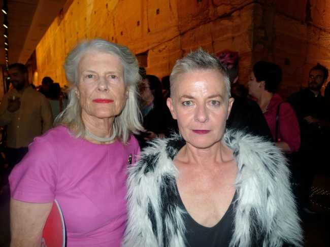 Penelope Seidler and Marita Leuver