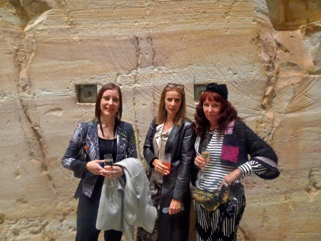 Rachel Kent, Rachel Griffth and me