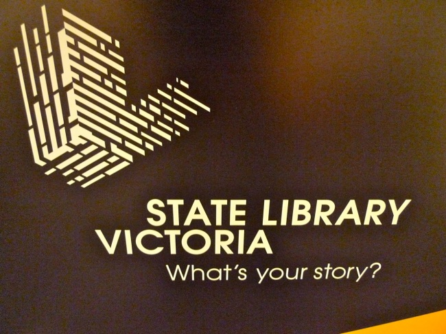 State Library of Victoria, What's your Story?