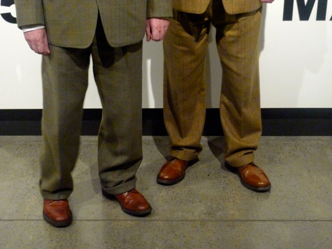 The Bottom half of Gilbert and George