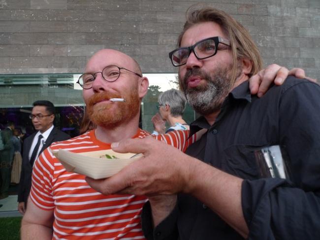 Andrew McQualter and Jordy Marani