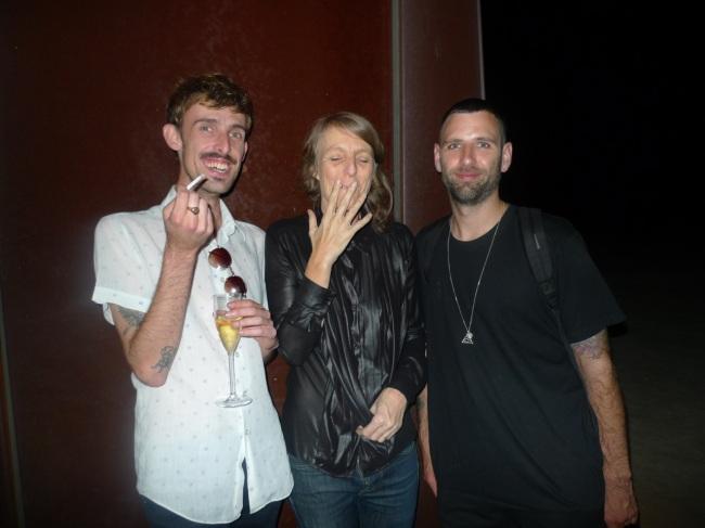 George Bath, Claire Lambe and Matt Adys