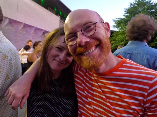 Helen Johnson and Andrew McQualter