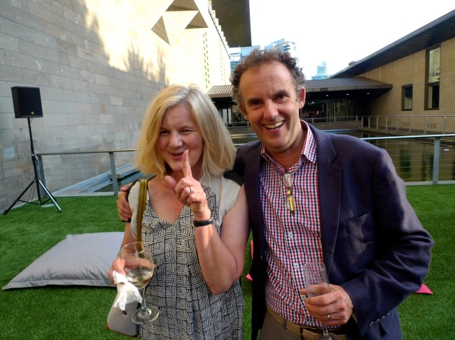 Helen Seales and Dr Andrew