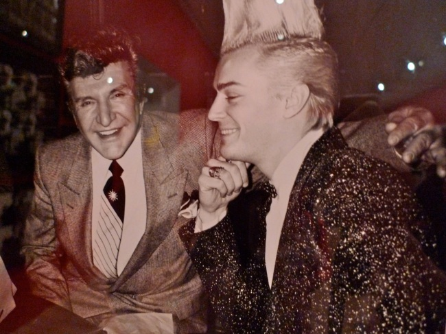 Liberace with a young friend