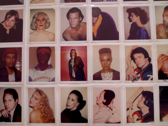 Polaroids from the Factory