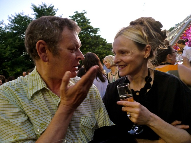 Ronnie Van Hout and Rose Nolan